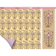 Kanban Dawn Bibby 12x12 Tree House N93 DS Paper & Foiled Die Cuts Kit