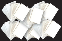 60 White A6 Cards Envelopes Cardmakers Card Making