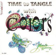 Time to Tangle with Colors Zentangle Book Drawing