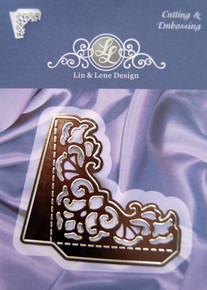 Lin & Lene Design Corner with Flaps Cutting Dies