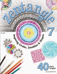 Zentangle 7 Book Inspiring Circles Zendalas Shapes Drawing Inspiration