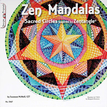 Zen Mandalas Sacred Circles Inspired by Zentangle Book Drawing