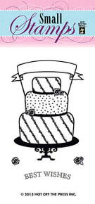 HOTP Clear Stamps Small Cake 1110 Acrylic