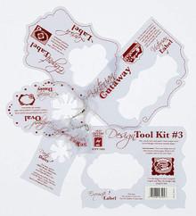 HOTP DESIGN TOOL KIT #3 TemplateS 7409