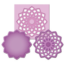 Spellbinders Die D-Lites MEDALLION 3 S2-017 Cutting Set