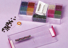Seed Bead and Loom Kit Fashion Glass by the Beadery