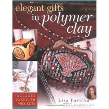 Elegant Gifts in Polymer Clay Book Sculpey NEW OOP Lisa Pavelka