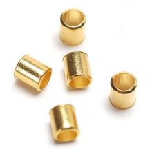 2.5mm Gold Tone Crimp Bead 1Gram 1963-30 Darice Jewelry Designer