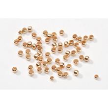 2.5mm Gold Tone Crimp Bead 1Gram 1921-22 Darice Jewelry Designer