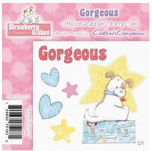 STRAWBERRY KISSES - GORGEOUS - EZMount Stamp Set PUPPY