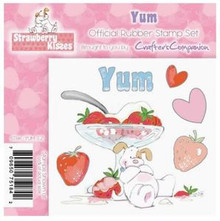 STRAWBERRY KISSES - YUM - EZMount Stamp Set PUPPY