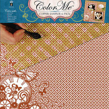 Color Me Copper 4172 Paper Pack 6pc 12x12
