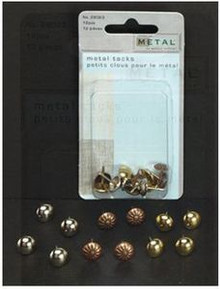 Creative Metal Tacks 12pcs for Use with Soft Embossing Upholstery Style