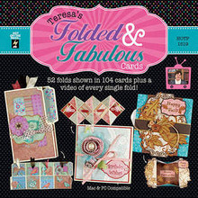 Teresa's Folded & Fabulous DVD 1519  - total of 104 cards!
