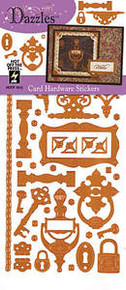 HOTP DAZZLES N1913 Copper Hardware PEEL OUTLINE STICKERS