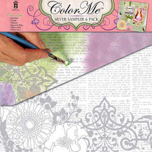 Color Me Silver Sampler Pack HOTP Make Custom Papers!