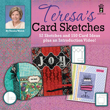 Teresa's Card Sketches N1514  52 Sketches & 150 Card Ideas CD