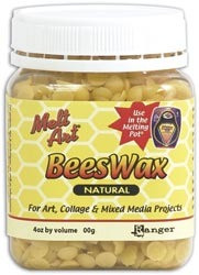 Melt Art Natural Bees Wax for Use in Melting Pot