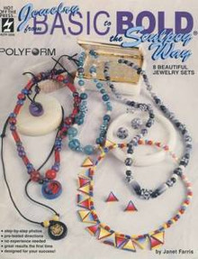 Jewelry from Basic to Bold the Sculpey Way Book OOP NEW
