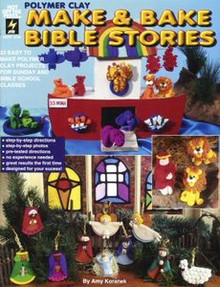 Make & Bake Bible Stories Polymer Clay Book FIMO OOP NEW