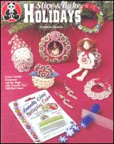 Slice & Bake Holidays Book Polymer Clay OOP NEW