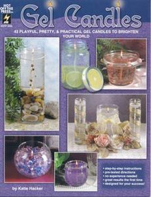Gel Candles book NEW 43 Designs & Instructions