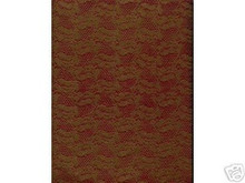 2pc 8.5x11 Gold Emboss Lace Burgundy Vellum Scrapbook