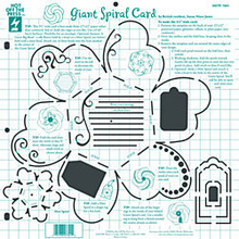 HOTP Template 7341 GIANT SPIRAL CARD Paper Flair 12X12