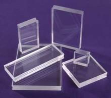 2 See D's SeeClear Acrylic Blocks 1X3X.25