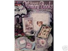 Romantic Memory Books 14 Decorated Album Covers NEW OOP