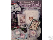 Romantic Memory Books 14 Decorated Album Covers NEW OOP - 2023