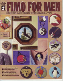 Fimo For Men Polymer Clay Book OOP Rare NEW Copy!