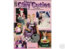 FIMO Clay Cuties Polymer Clay Sculpey OOP NEW book