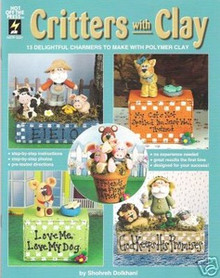Critters with Clay Polymer Sculpey FIMO Book OOP NEW LOWER PRICE!