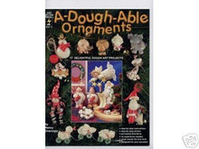 A-Dough-Able Ornaments Clay Dough Art OOP NEW BOOK