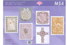 Pergamano Parchment Craft M54 6 Card Patterns & Desc