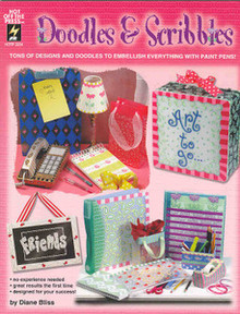 Doodles & Scribbles NEW OOP Painting Book