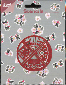 Joy Crafts Decorative Stencil #22 Embossing Cutting