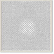 5pcs 12x12 White Vellum Dots Paper Pizazz Wedding