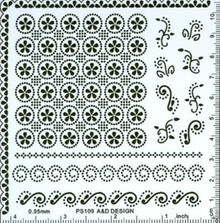 Parchment Craft Perforating Kit Card Making Vellum #109