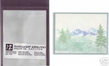 12 Translucent A2 Envelopes Card Making AF Stamping