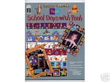 Disney School Days with Pooh Scrapbooking Papers 3042 OOP