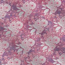2pc FOIL 12X12 Floral PINK Paper Pizazz HOTP
