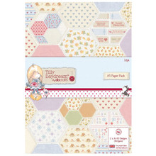 Tilly Daydream A5 Paper Pack 32-sheets of Charming 160gsm paper
