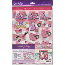 Hunkydory Faberdashery Patchwork Frame Foiled Card Kit