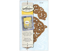 Spellbinders Die D-Lites Butterfly Twist Corners S2-096 Cuttting Set