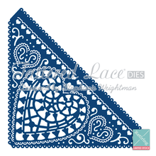 Tattered Lace Chantilly Heart Edges  D175 Cutting Die RETIRED