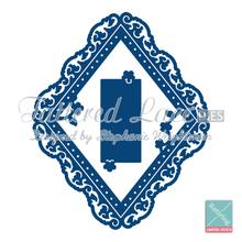 Tattered Lace Ornamental Diamond D064 Cutting Dies RETIRED