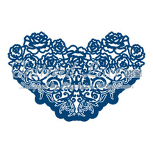 Tattered Lace Rose Ornate Cutting Die Set D202 Retired