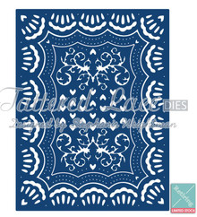 Tattered Lace - Victorian Rectangle 3-in-1 Die - D078 Cutting Die